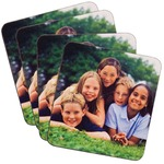 3-3/4 x 3-3/4 Hardboard Coaster  (set of 4)
